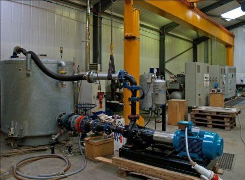 Amarinth pump test facility 1