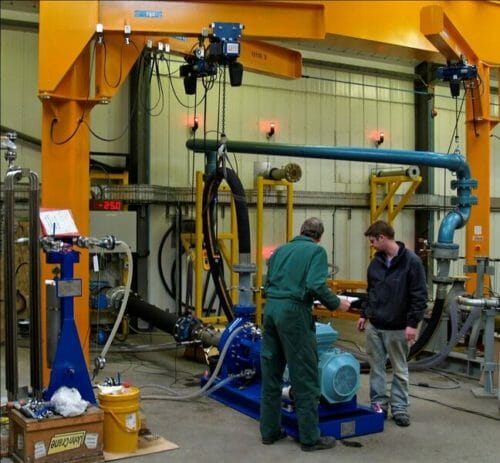 Amarinth pump test facility 2
