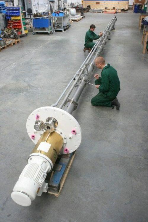 13m long API 610 VS4 pump