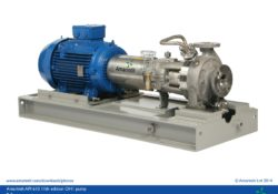 API 610 11th edition OH1 process pump with plan 11 recirculation - B Series