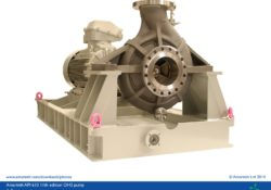 API 610 11th edition OH2 process pump - A Series