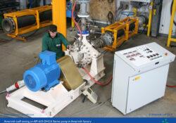 API 610 OH2 pump on performance test
