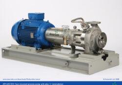 API 610 OH1 process pump with plan 11 recirculation - B Series