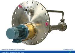 API 610 VS4 vertical sump pump - V Series