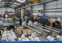 Amarinth pump assembly area