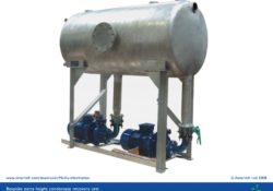 Condensate recovery unit - bespoke model