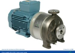 ISO 5199 close coupled motor pump - C Series