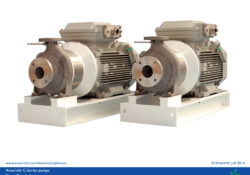 Heavy duty ISO 5199 close coupled motor pumps with ISO plan 02 - C Series