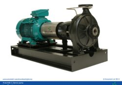 ISO 5199 long coupled pump with ISO plan 02 - C Series