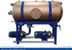 Condensate recovery unit (copper tank) - Mk III
