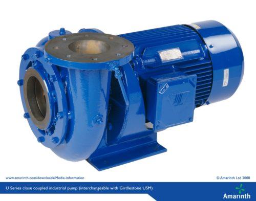 U-Series-close-coupled-industrial-pump-interchangeable-with-Girdlestone-USM