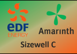 Amarinth supports EDF and the Sizewell C nuclear power planning application