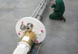 Amarinth ISO 5199 13m vertical long shaft sump pump - T Series