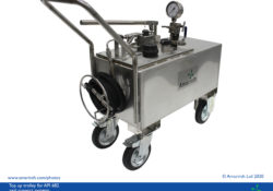 Top up trolley for API 682 seal support systems