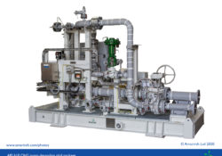 API 610 OH2 pump de-sanding skid package