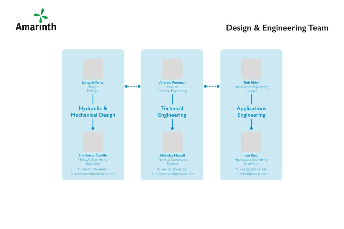 Amarinth Organisation Design & Engineering Structure
