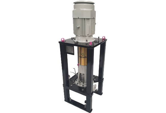 OH3 petrochemical process pumps - I Series